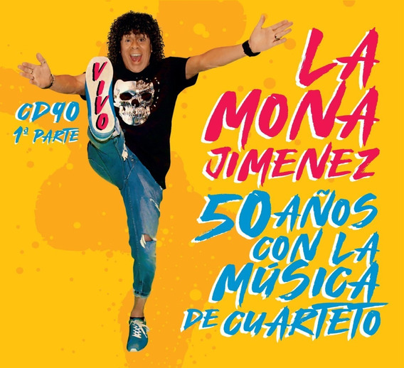 Cd La Mona Jimenez - 50 Años Con La Música De Cuarteto