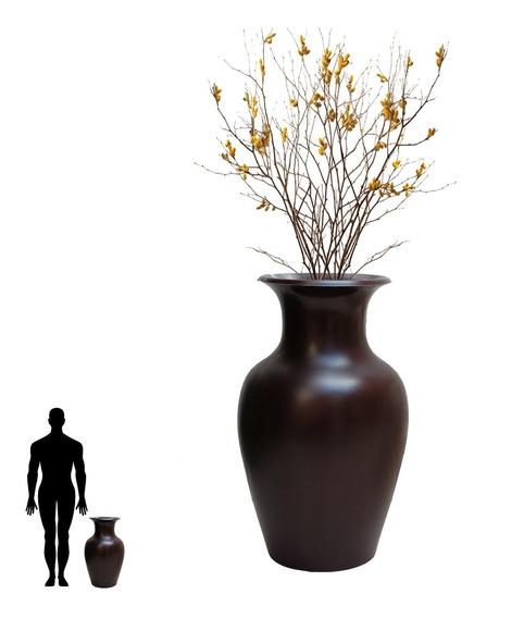 1 Vaso Decoração Enfeites Mesa Arranjo Flor Artificial 70x40