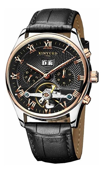 Relógio Mecanico Masculino Kinyued Luxo Top Original