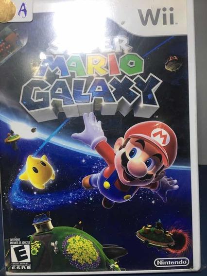 Super Mário Galaxy- Jogo Para Nintendo Wii Seminovo- Rf48
