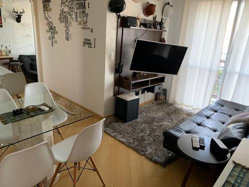 Apartamento Mobiliado Com 2 Dormitórios À Venda Na Vila Leopoldina - 16556