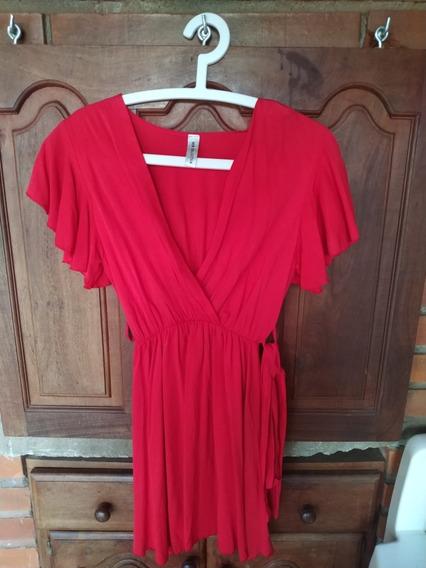 Vestido Rojo Nuevo De Fibrana