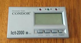 Afinador Instrumento Musical Boss Chromatic Condor Lct-2000