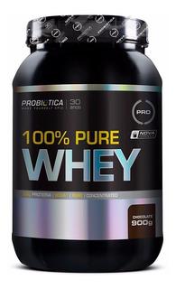 100% Pure Whey - 900 Gramas - Probiotica - Chocolate