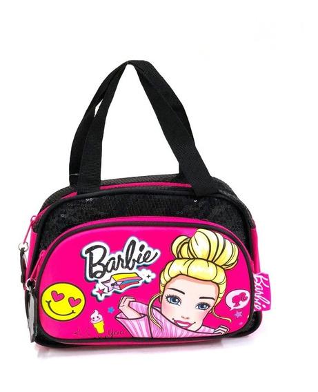 Bolso Cartera Infantil Barbie + Obsequio #15663e