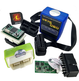 Kit Scanner Chip Eco Nitro Obd Automotivo Chicote Duplo Obd2