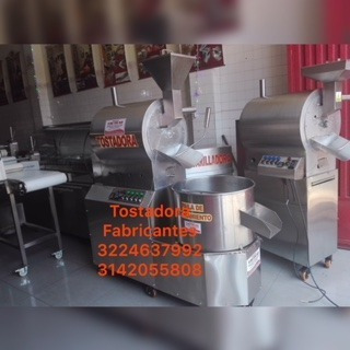 Tostadora De Cacao Tostador De Cafe Maiz Mani Works Steel