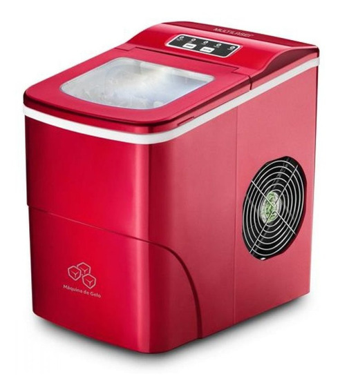 Máquina De Gelo Multilaser 127v 100w Vermelha - Ho069