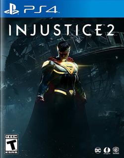 Injustice 2 Ps4 Nuevo Fisico Sellado Envio Gratis