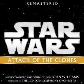Star Wars Atracó Of The Clones Remastered Cd