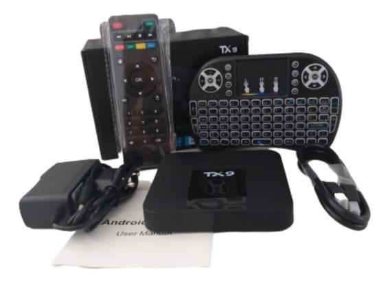Conversor Smart Tv Cortex A 53 Em Estoque+teclado