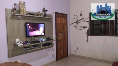 Sobrado Residencial À Venda, Jardim Do Triunfo, Guarulhos. - So0257