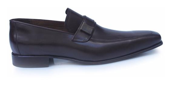 Zapatos De Cuero De Hombre Mocasines Gregorio - Ferraro -