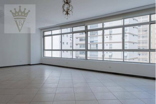 Apartamento Com 3 Dormitórios À Venda, 143 M² Por R$ 1.450.000,00 - Higienópolis - São Paulo/sp - Ap5581