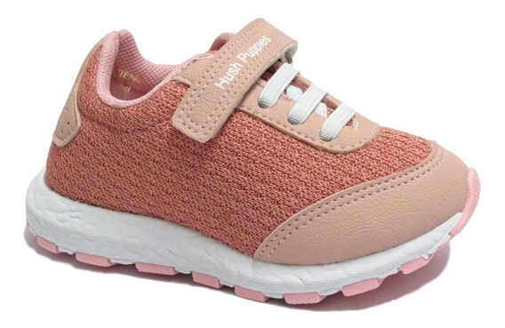 Zapatillas Unisex Hush Puppies Cordon Y Abrojo 21 Al 28 Lilo