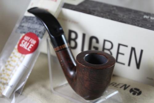 Imagen 1 de 8 de Pipa Big Ben, De Raiz De Brezo, Modelo Café Noir 205 Curva