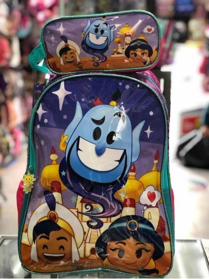 Mochila + Lapicera Atm Original Aladin Con Luz