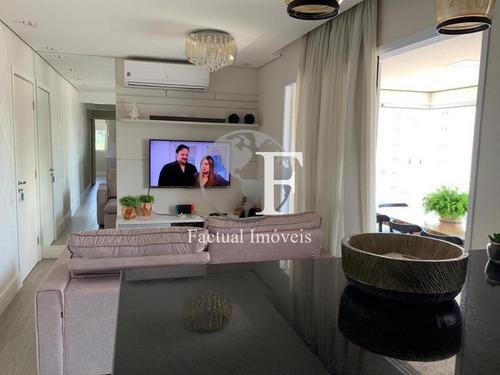 Apartamento Com 3 Dormitórios À Venda, 83 M² Por R$ 750.000,00 - Enseada - Guarujá/sp - Ap9750