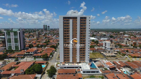 Apartamento Com 3 Dormitórios À Venda, 75 M² Por R$ 350.000 - Estados - João Pessoa/pb - Ap2449