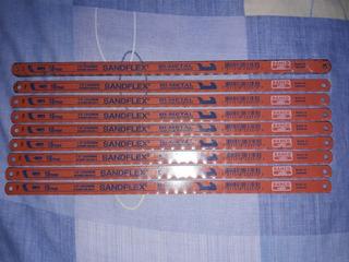 Hoja De Segueta Sandflex Original 24 Dientes / 2$ C/u