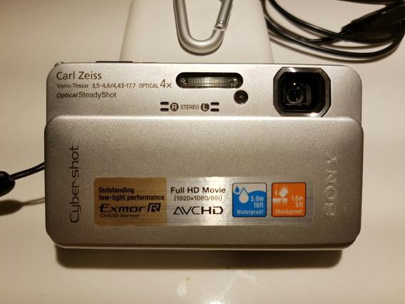 Câmera Sony Dsc-tx10 A Prova D