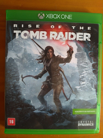 Rise Of The Tomb Raider Xbox One Midia Fisica