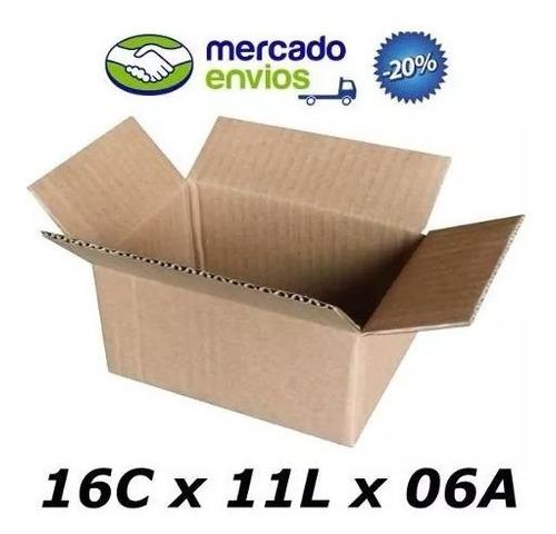 800 Caixas Papelão Correio Sedex 16x11x6 Sedex