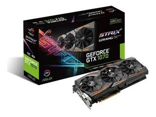Rog Strix Geforce Gtx 1070 Oc 8gb Gdrr5 Con Aura Sync Rbg