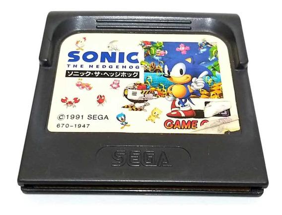 Sonic The Hedgehog 1 Game Gear Original Japonês