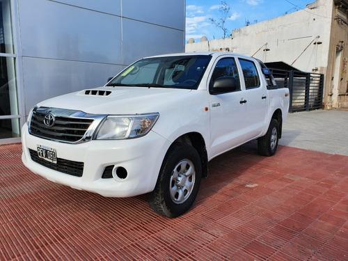 Toyota Hilux 4x4 2.5 Dx Pack Blanco 2015 162.000 Km Roas