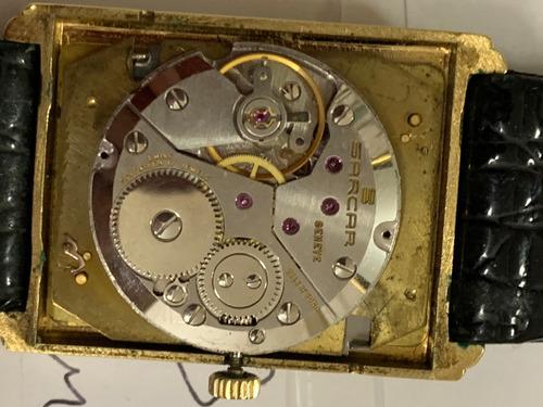 Relogio Sarcar,geneve.3 Calendarios ,fases Sol E Lua,anos 70