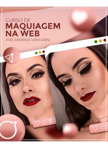 Imagem 1 de 1 de Curso De Maquiagem Na Web  1.0  Por Andreia Venturini