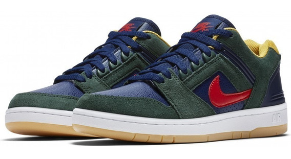 Zapatillas Nike Sb Air Force 2 Colores Simil Dunk