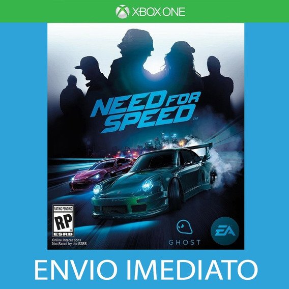 Need For Speed - Xbox One - Receba Hoje! Português Br
