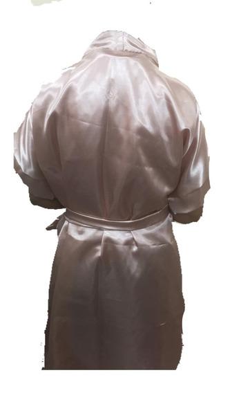 Robe De Madrinha Cetim Bordado Personalizado Cor Rose