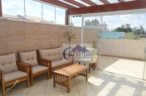 Apartamento Com 2 Dormitórios À Venda, 70 M² Por R$ 560.000,00 - Vila Pires - Santo André/sp - Ap3812