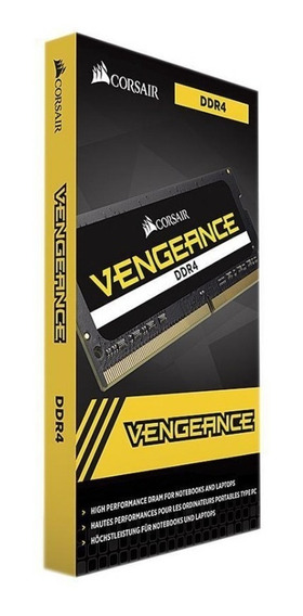 Memoria P/ Notebook Ddr4 16gb 2666 Vengeance Corsair C/ Nf