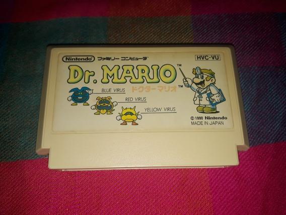 Cartucho Dr Mario Original Famicom Nes 60 Pinos Japonês