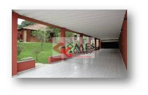 Chácara Com 2 Dormitórios À Venda, 2200 M² Por R$ 800.000,00 - Pouso Alegre - Ribeirão Pires/sp - Ch0033