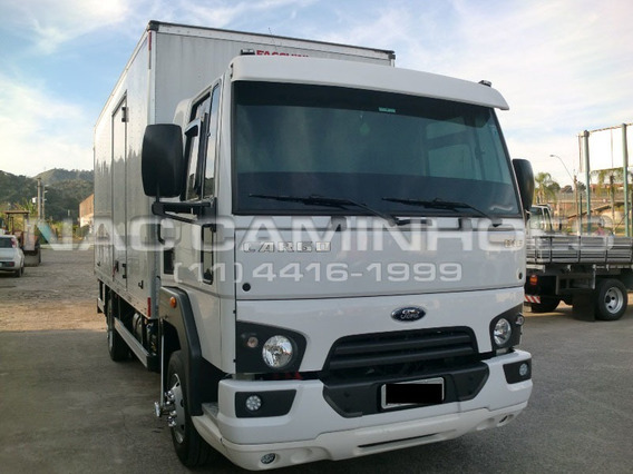 Ford Cargo 816 S Ano 2017/2018 Bau 5,20 Mts