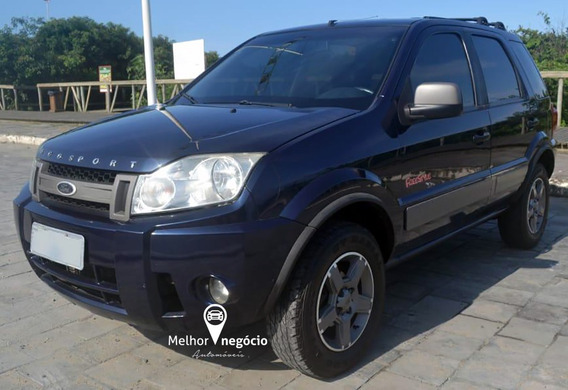 Ford Ecosport Xlt Freestyle 1.6 8v Flex 2008 Azul