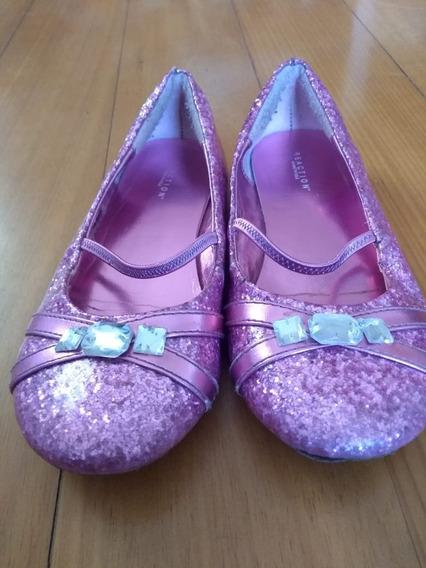 Zapatos Chatitas Nena Talle 30