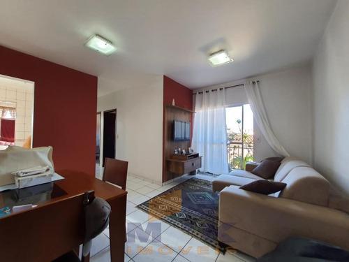 Apartamento Para Venda Em Suzano, Vila Figueira, 2 Dormitórios, 1 Banheiro, 1 Vaga - 1002_1-1842891