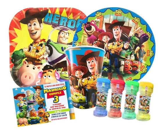 Kit Dulceros Platos Globos Todo Para Tu Fiesta Toy Story