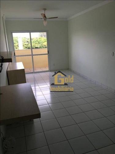 Apartamento Com 1 Dormitório Para Alugar, 42 M² Por R$ 1.000,00/mês - Nova Ribeirânia - Ribeirão Preto/sp - Ap2469