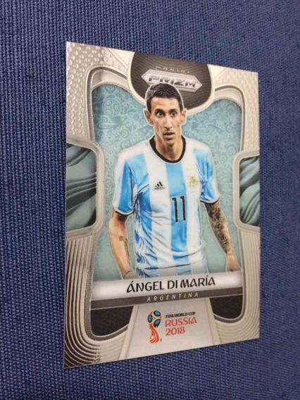 Card De Futebol Copa 2018 Prizm ( Di Maria)