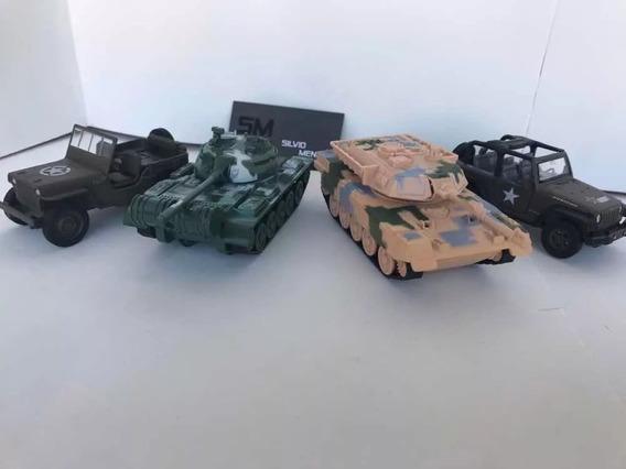 Miniaturas Frota Militar Com 4 Unidades Escala 1/32