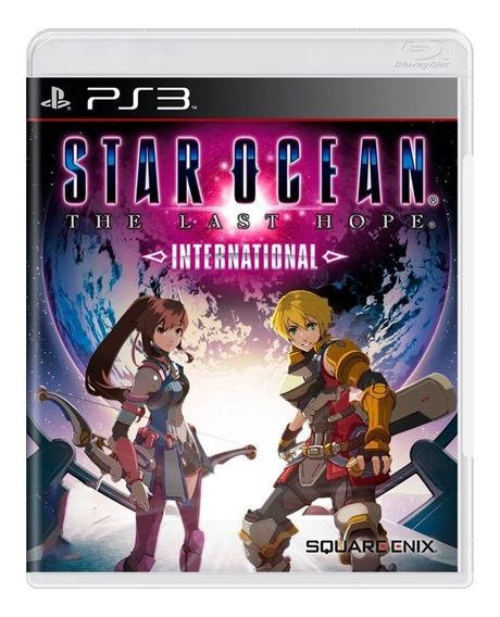 Star Ocean The Last Hope International Ps3 | Mídia Física