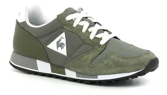 Zapatillas Hombre Le Coq Sportif Omega Verde Militar