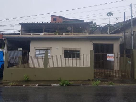 Casa Para Alugar 4 Cômodos - Jd Santo Antônio - Embu Das Artes - 298 - 33779661